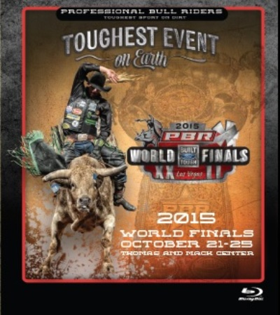 PBR Bullriding Finals 2015 - Blu-Ray Only