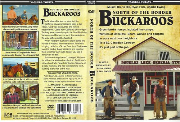 Vaquero Series #12 - North of the Border BUCKAROOS