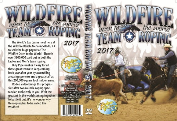 Wildfire Open to the World Team Roping 2017