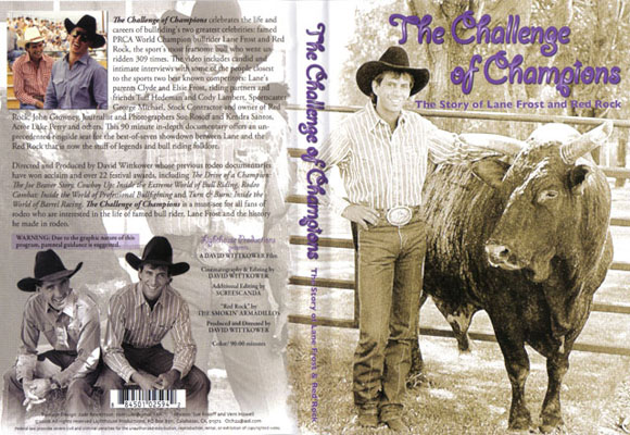 Challenge of Champions – The Story of Lane Frost and Red Rock