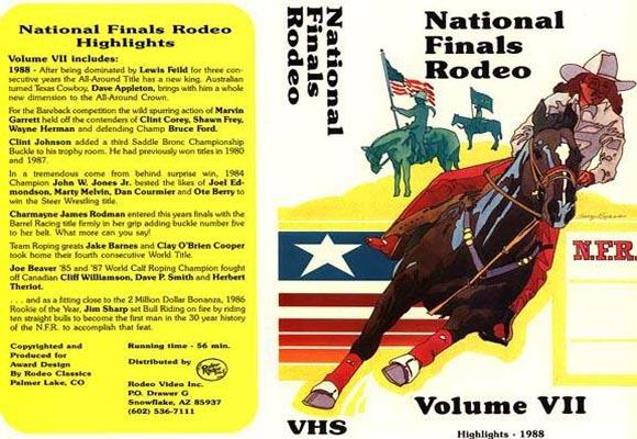 National Finals Rodeo Highlights Volume 7, RodeoVideo com